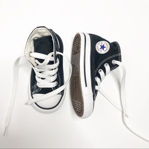 Converse All ⭐️ Star Black HighTop Sneakers Size 5